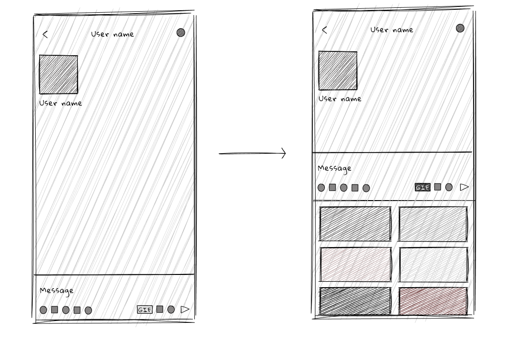 mobile window sketches
